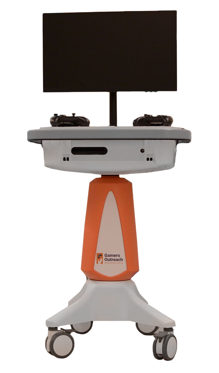 Go Karts Are Portable Video Kiosks Built Specifically For The Medical Environment Each Unit Helps Nurses And Child Life Specialists Easily Provide